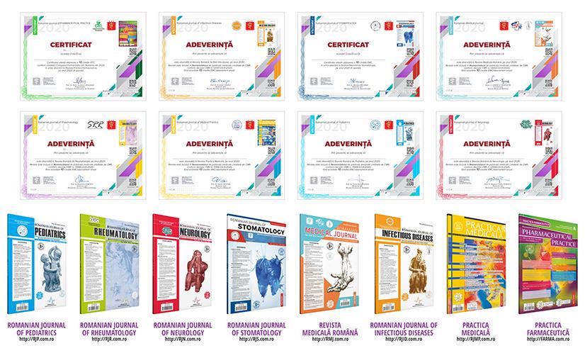 Abonamente Reviste Medicale - Credite EMC si EFC